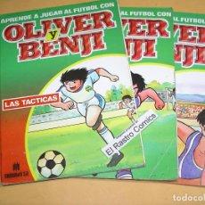 Comics: APRENDE A JUGAR AL FUTBOL CON OLIVER Y BENJI, Nº 1, 2 Y 3, ED. MULTILIBRO, 1990, LOTE,. Lote 112838087