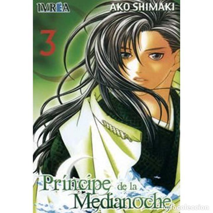 EL PRINCIPE DE LA MEDIANOCHE Nº3 (Tebeos y Comics - Manga)