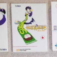Cómics: COMIC MANGA MAHOROMATIC: LOTE DE 3 NUMEROS; IVREA (EI). Lote 114405051