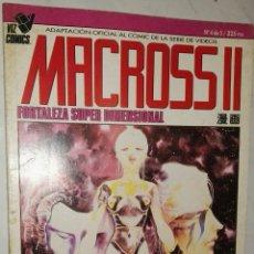 Cómics: MACROSS II FORTALEZA SUPER DIMENSIONAL N° 4 DE 5. Lote 114649403