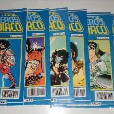 Cómics: LOTE COMICS MANGA - LOS CABALLEROS DEL ZODIACO - DEL 1 AL 6 - 6 NUMEROS - PLANETA DE AGOSTINI. Lote 115515407