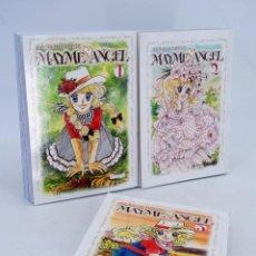 Fumetti: MAYME ANGEL 1 A 3. COMPLETA. AUTORA DE CANDY CANDY (YUMIKO IGARASHI) GLENAT, 2008. OFRT ANTES 29,85E. Lote 240665830