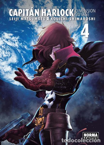 CÓMICS. MANGA. CAPITÁN HARLOCK. DIMENSION VOYAGE 4 - LEIJI MATSUMOTO/KOUICHI SHIMABOSHI (Tebeos y Comics - Manga)