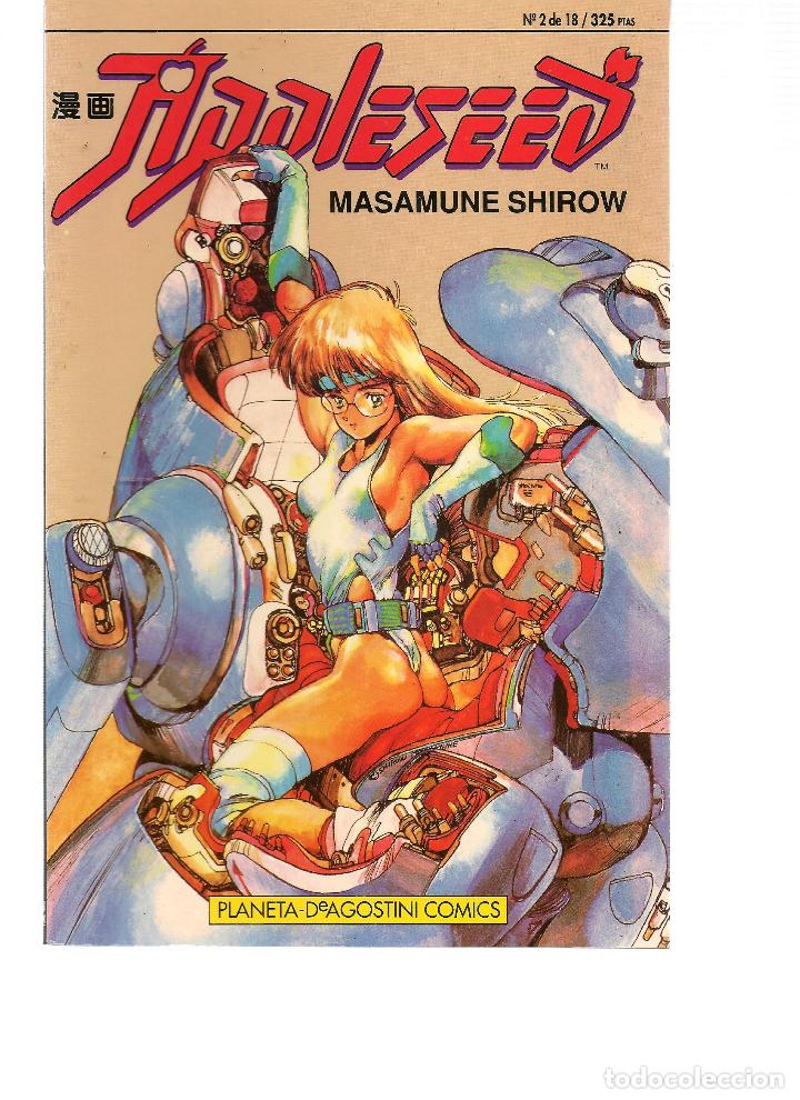Appleseed Nº 2 De 18 Masamune Shirow Plane Buy Manga Comics At Todocoleccion 117391627