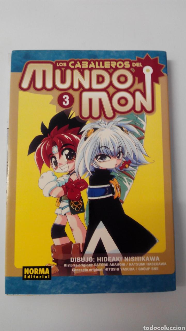 LOS CABALLEROS DEL MUNDO MON N°3 NORMA EDITORIAL (Tebeos y Comics - Manga)