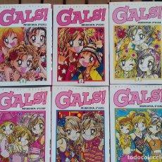 Cómics: GALS! (TOMOS 1 AL 6. EDICIÓN ESPAÑOLA GLÉNAT). Lote 119420287