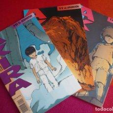 Cómics: AKIRA NºS 10, 11 Y 12 ( KATSUHIRO OTOMO ) ¡MUY BUEN ESTADO! MANGA EN COLOR GLENAT 1990. Lote 121621823