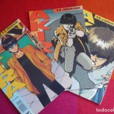 Cómics: AKIRA NºS 13, 14 Y 15 ( KATSUHIRO OTOMO ) ¡MUY BUEN ESTADO! MANGA EN COLOR GLENAT 1990. Lote 148532876