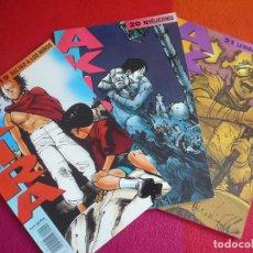 Cómics: AKIRA NºS 19, 20 Y 21 ( KATSUHIRO OTOMO ) ¡MUY BUEN ESTADO! MANGA EN COLOR GLENAT 1990. Lote 121622111