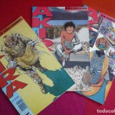 Cómics: AKIRA NºS 22, 23 Y 24 ( KATSUHIRO OTOMO ) ¡MUY BUEN ESTADO! MANGA EN COLOR GLENAT 1990. Lote 121622135