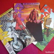 Cómics: AKIRA NºS 25, 26 Y 27 ( KATSUHIRO OTOMO ) ¡MUY BUEN ESTADO! MANGA EN COLOR GLENAT 1990. Lote 121622367