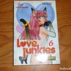 Cómics: LOVE JUNKIES Nº 6. KYO HATSUKI. NORMA EDITORIAL. COMIC PARA ADULTO. MANGA. Lote 124494619