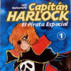 Cómics: CAPITÁN HARLOCK : EL PIRATA ESPACIAL Nº 1 Y Nº 2 DE LEIJI MATSUMOTO EDITORIAL GLÉNAT. Lote 124496467