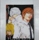 Cómics: DEATH NOTE. Nº 9. CONTACTO. TSUGUMI OHBA. TAKESHI OBATA. . Lote 124682035