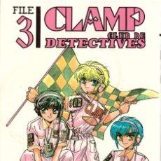 Cómics: COMIC MANGA CLAMP CLUB DE DETECTIVES, Nº 3 - NORMA- OFERTAS DOCABO TEBEOS. Lote 128685120