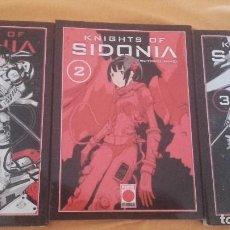 Cómics: KNIGHTS OF SIDONIA LOTE NªS 1 2 Y 3 - PANINI - TSUTOMO NIHEI. Lote 127497931