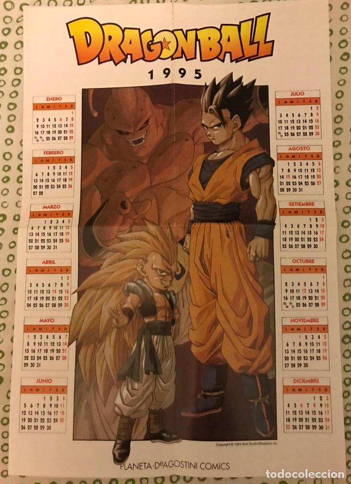 POSTER DRAGON BALL Z 1995 (Tebeos y Comics - Manga)