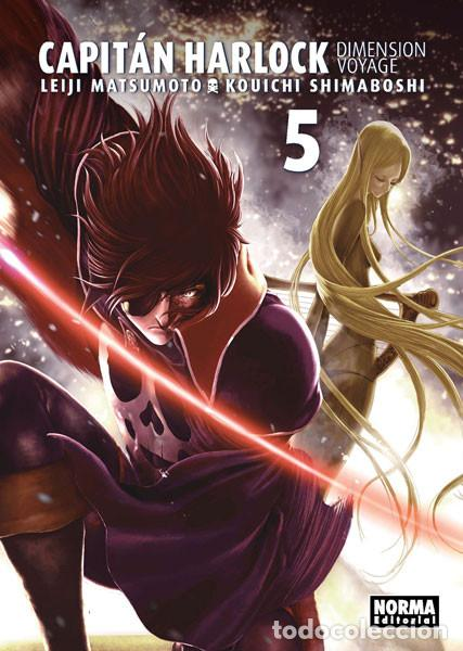 CÓMICS. MANGA. CAPITÁN HARLOCK DIMENSION VOYAGE 5 - LEIJI MATSUMOTO/KOUICHI SHIMABOSHI (Tebeos y Comics - Manga)