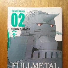 Cómics: FULLMETAL ALCHEMIST, KANZENBAN 2 02, HIROMU ARAKAWA, NORMA EDITORIAL, MANGA. Lote 128166791