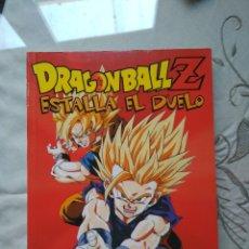 Cómics: DRAGON BALL Z ANIME COMIC ESTALLA EL DUELO GOKU VS BROLY AKIRA TORIYAMA BOLA DE DRAGON PLANETA. Lote 128299279