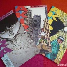 Cómics: AKIRA NºS 16, 17 Y 18 ( KATSUHIRO OTOMO ) ¡MUY BUEN ESTADO! MANGA EN COLOR GLENAT 1990. Lote 128741215