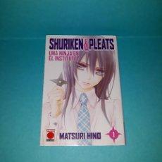 Cómics: SHURIKEN AND PLEATS 1. MATSURI HINO. Lote 129090239