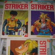 Cómics: STRIKER EL GUERRO BLINDADO #1-3 (FORUM, 1993). Lote 129408779