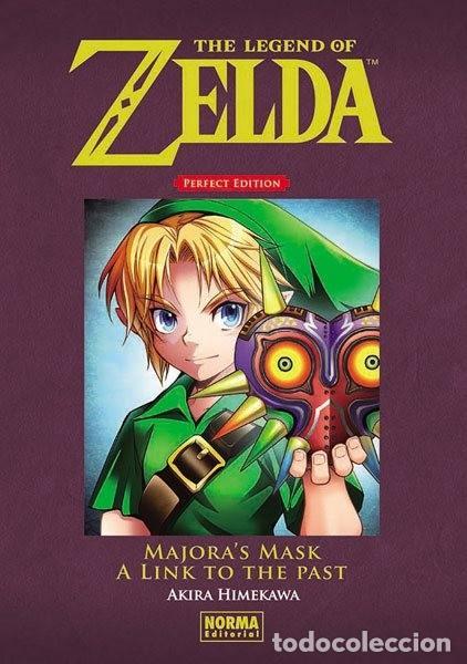 the legend of zelda perfect edition - tomo 2 - majora's mask a link to the past (en español) NORMA E segunda mano