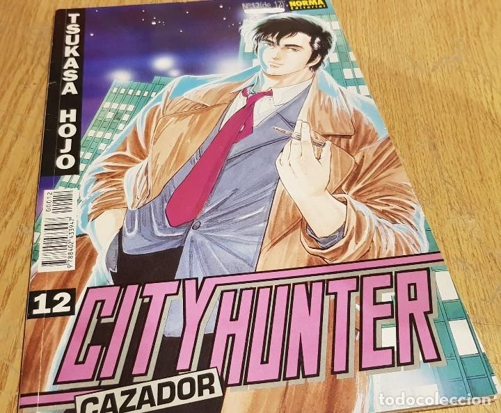 Cómics: CITY HUNTER / CAZADOR / TSUKASA HOJO / LOTE DE 4 NÚMEROS ( 2-5-11-12 ) CON USO NORMAL / OCASIÓN. - Foto 3 - 129615027