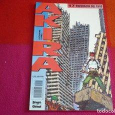 Cómics: AKIRA Nº 17 EMPERADOR DEL CAOS ( KATSUHIRO OTOMO ) ¡MUY BUEN ESTADO! MANGA EN COLOR GLENAT 1990. Lote 130039551