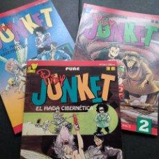 Cómics: PIXY JUNKET EL HADA CIBERNETICA VIZ COMIC MANGA COMPLETA 3 NUMEROS. Lote 130100735
