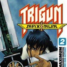 Cómics: TRIGUN MAXIMUM Nº 2 (YASUHIRO NIGHTOW) GLENAT - MUY BUEN ESTADO - OFI15. Lote 130121791