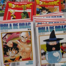 Cómics: MEGA LOTE DRAGON BALL / BOLA DE DRAC SERIE BLANCA Y ROJA 137 NUMEROS EDICION CATALAN / CATALA. Lote 132363470