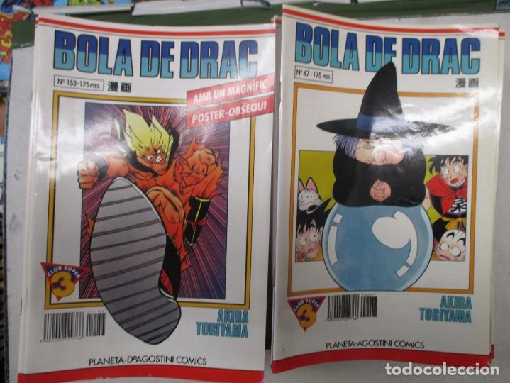 Cómics: MEGA LOTE DRAGON BALL / BOLA DE DRAC SERIE BLANCA Y ROJA 137 NUMEROS EDICION CATALAN / CATALA - Foto 2 - 132363470