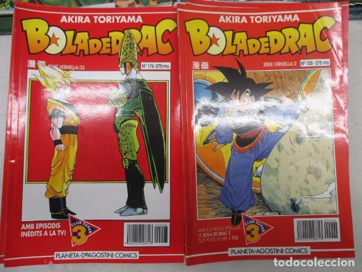 Cómics: MEGA LOTE DRAGON BALL / BOLA DE DRAC SERIE BLANCA Y ROJA 137 NUMEROS EDICION CATALAN / CATALA - Foto 3 - 132363470