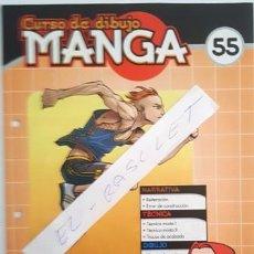 Cómics: FASCICULO CURSO DE DIBUJO MANGA Nº 55 - EDITORIAL SALVAT - AÑO 2003 -. Lote 134075694