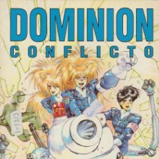 Cómics: DOMINION. CONFLICTO. NORMA 1995. Nº 3 -MASAMUNE SHIROW-. Lote 134727529