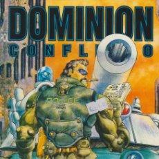 Cómics: DOMINION. CONFLICTO. NORMA 1995. Nº 4 -MASAMUNE SHIROW-. Lote 134727537