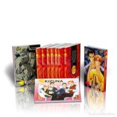Cómics: MANGA. PACK KIZUNA (OBRA COMPLETA). 10 CÓMICS - KAZUMA KODAKA DESCATALOGADO!!! OFERTA!!!. Lote 137206950
