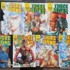 Cómics: TIGRE WONG DE MIKE BARON Y TONY WONG. LOTE DE 7 COMICS. COMICS FORUM 1990. Lote 138933222