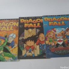 Cómics: LOTE 3 CÓMICS DRAGON FALL N° 5, 6, 29 EDITORIAL CAMALEON. Lote 140926297