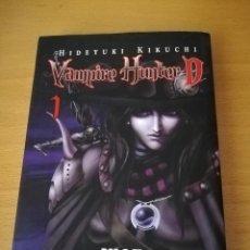 Cómics: VAMPIRE HUNTER D 1 (HIDEYUKI KIKUCHI) ADAPTACION Y DIBUJO DE SAIKO TAKAKI. Lote 142780630