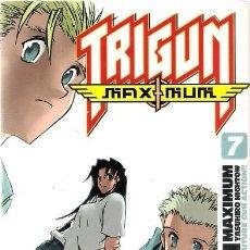 Cómics: TRIGUN MAXIMUM Nº 7. YASUHIRO NIGHTOW. GLÉNAT.. Lote 175763234
