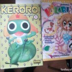 Cómics: LOTE DE DOS EJEMPARES MANGA: KERORO NUMERO 1 Y KILARI 3. Lote 144482070