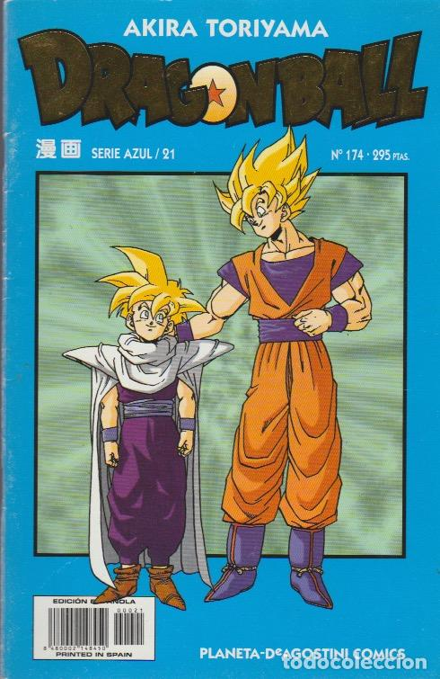 DRAGON BALL. SERIE AZUL PLANETA DEAGOSTINI 1998 Nº 174 (SERIE AZUL/21) (Tebeos y Comics - Manga)
