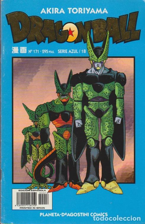 DRAGON BALL. SERIE AZUL PLANETA DEAGOSTINI 1998 Nº 171 (SERIE AZUL/18) (Tebeos y Comics - Manga)