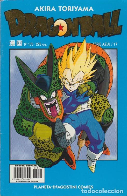 DRAGON BALL. SERIE AZUL PLANETA DEAGOSTINI 1998 Nº 170 (SERIE AZUL/17) (Tebeos y Comics - Manga)