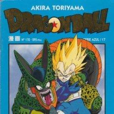 Cómics: DRAGON BALL. SERIE AZUL PLANETA DEAGOSTINI 1998 Nº 170 (SERIE AZUL/17). Lote 176011730