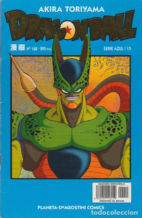 DRAGON BALL. SERIE AZUL PLANETA DEAGOSTINI 1998 Nº 168 (SERIE AZUL/15) (Tebeos y Comics - Manga)