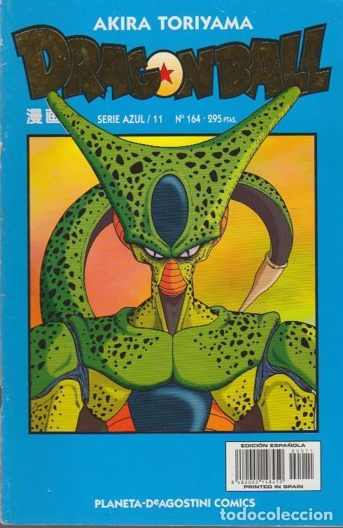 DRAGON BALL. SERIE AZUL PLANETA DEAGOSTINI 1998 Nº 164 (SERIE AZUL/11) (Tebeos y Comics - Manga)